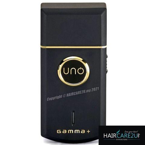 Gamma+ Uno Professional Lithium-Ion Single Foil Shaver - Black #GPUNOSFS.jpg