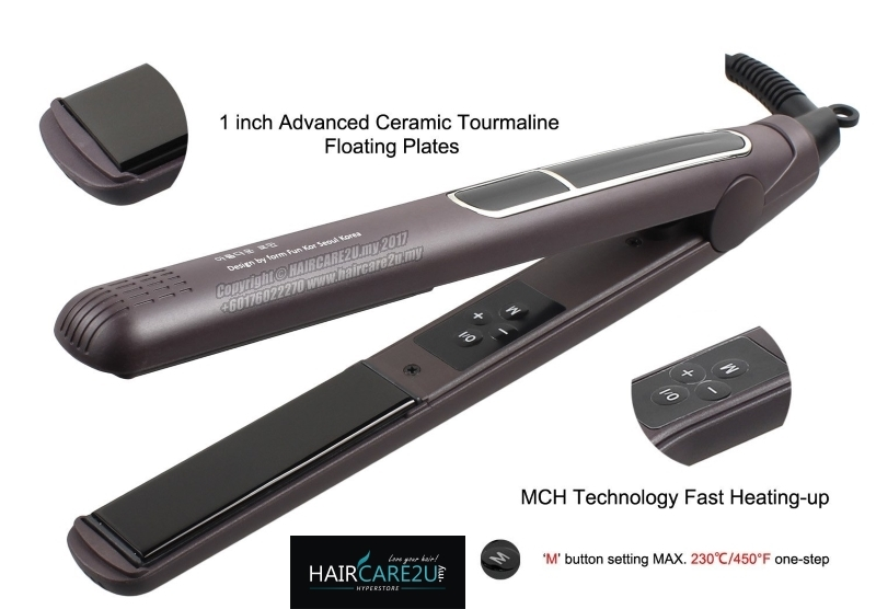Fun Kor South Korea Professional Hair Straightener Iron Slim Edition 2.jpg