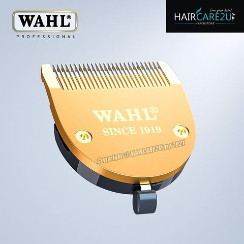 Wahl B-206 High Technology 2 Hole Stainless Steel 100 Years Gold Blade.jpg