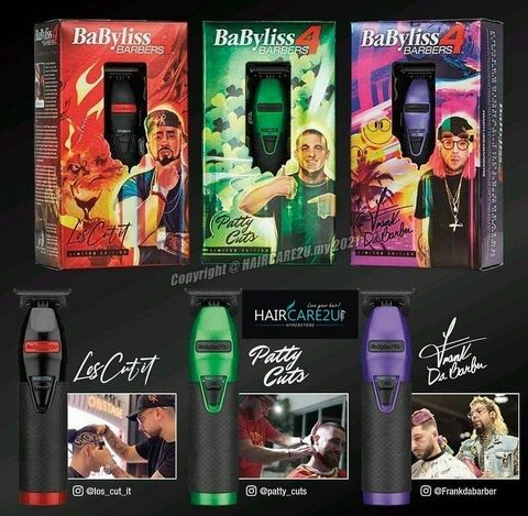 BaByliss Pro Influencer Limited Edition Metal Lithium Outlining Trimmer 2.jpg