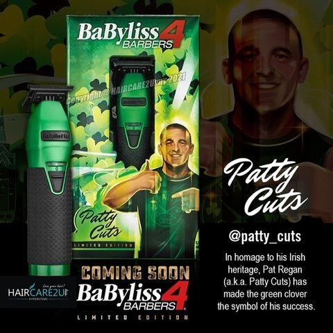 BaByliss Pro Influencer Limited Edition Metal Lithium Outlining Trimmer - Patty Cuts #FX787GI.jpg