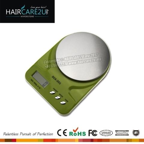 HAIRCARE2U.my SCA-301 Barber Salon Kitchen Scale Green.jpg