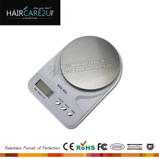 HAIRCARE2U.my SCA-301 Barber Salon Kitchen Scale Yellow.jpg
