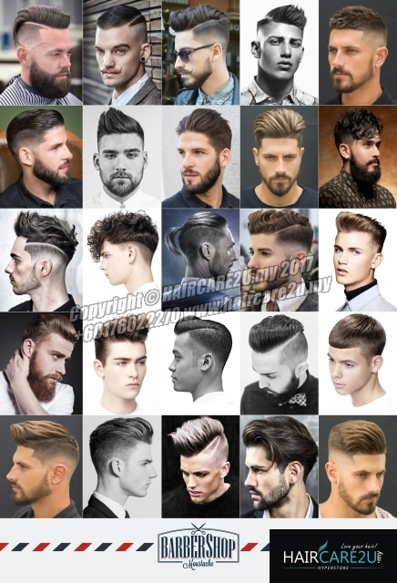 European Western Style Men Hair Barber Poster.jpg