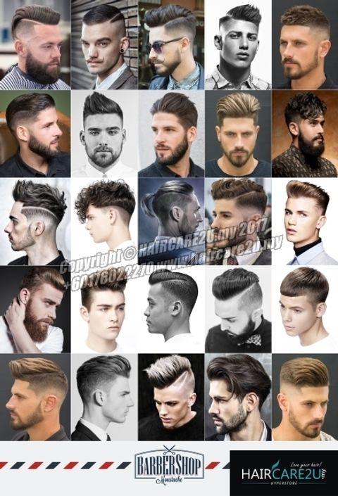 European Western Style Men Hair Barber Poster.jpg