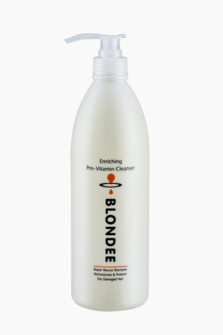 1000ml Blondee Pro-Vitamin Cleanser Dry & Damaged Repair Rescue Shampo.jpg