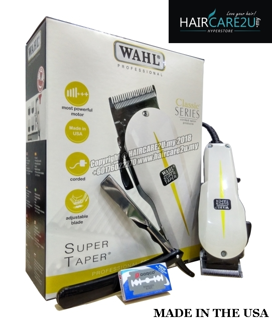 Wahl 8466 Super Taper Hair Clipper (FREE Shaving Knife + Cutting Cape).jpg