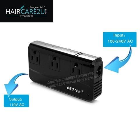 BESTEK Universal Travel Adapter 220V to 110V Voltage Converter with 6A 4-Port USB Charging Worldwide Plug Adapter Black 3.jpg