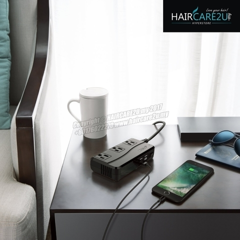 BESTEK Universal Travel Adapter 220V to 110V Voltage Converter with 6A 4-Port USB Charging Worldwide Plug Adapter.jpg
