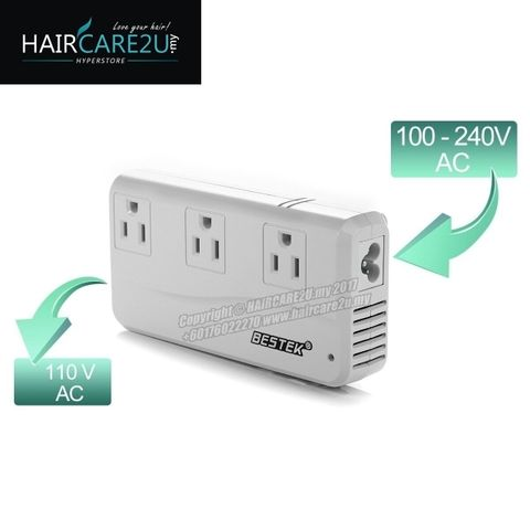 BESTEK Universal Travel Adapter 220V to 110V Voltage Converter with 6A 4-Port USB Charging Worldwide Plug Adapter White 3.jpg