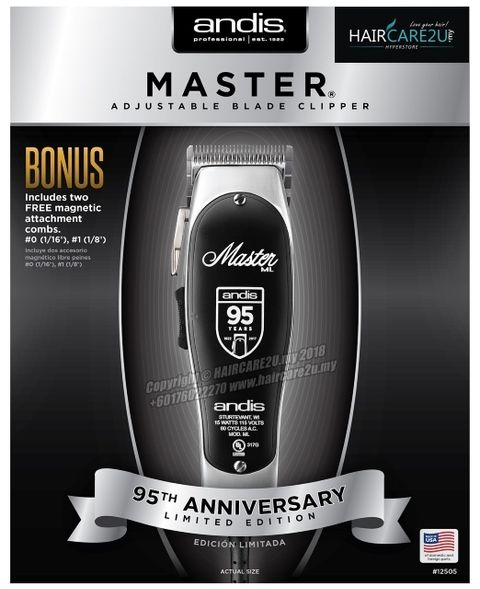 Andis 95th Anniversary Limited Edition Master Clipper #12505 2.jpg