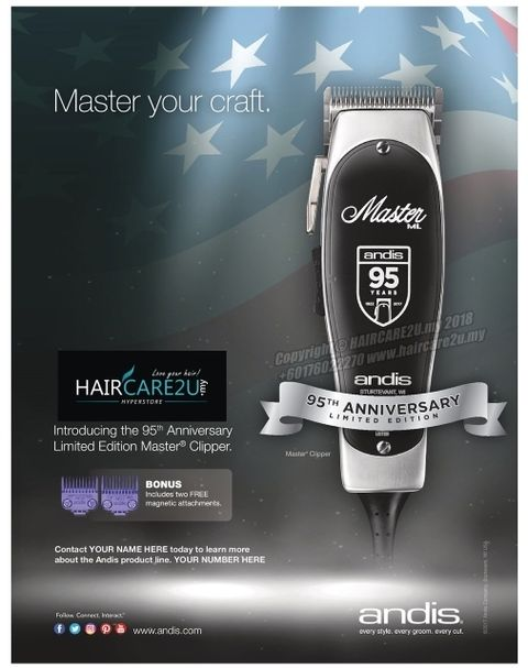 Andis 95th Anniversary Limited Edition Master Clipper #12505 3.jpg
