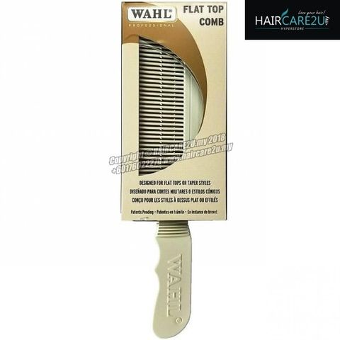 Wahl Flat Top Comb White #3329-100.jpg