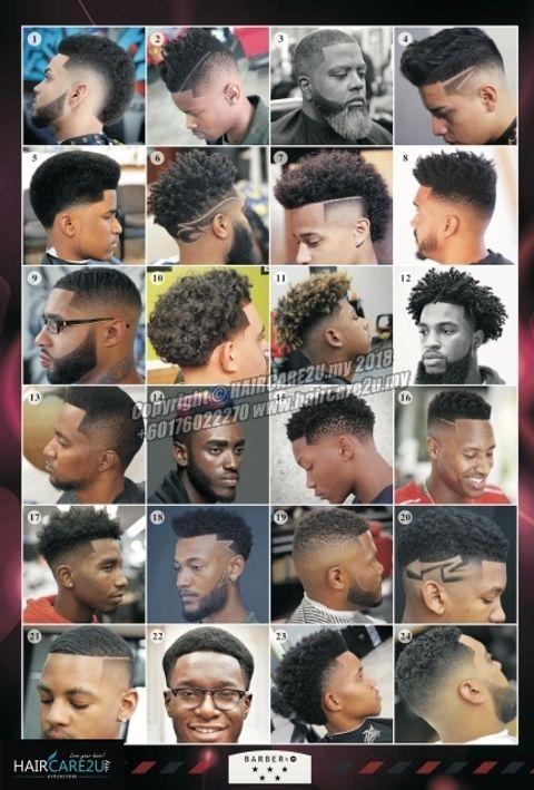 American Black Style Men Hair Barber Poster.jpg