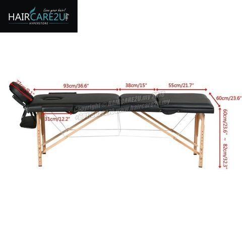 Massage King Portable Wooden Backrest Adjustable Folding Bed Table 14.jpg