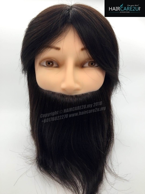 10 inches Barber Male Mannequin Head 100% Human Hair with Table Clamp Holder.jpg