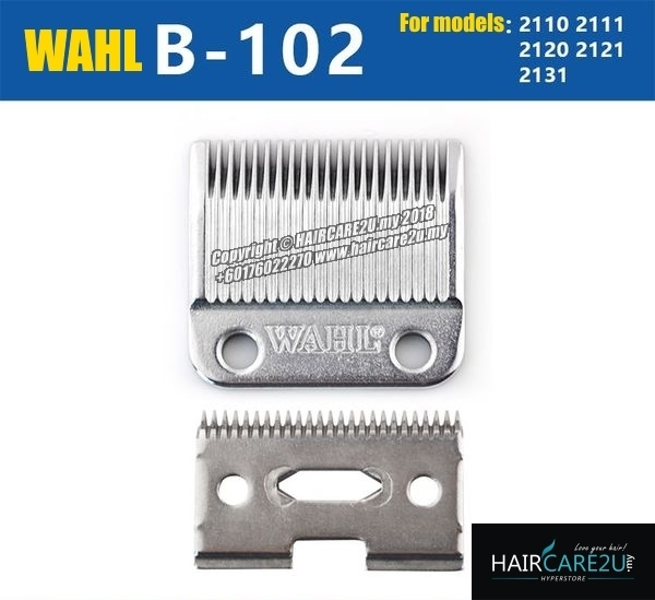 Wahl B-102 High Precision 2 Hole Stainless Steel Chrome Blade 3.jpg