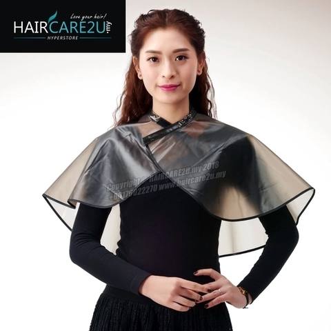 Salon Barber Waterproof Hair Shawl Hair Cutting & Coloring Shampoo Cape Shoulder Pad.jpg