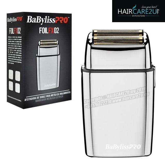 Babyliss PRO FOILFX02 Cordless Metal Double Foil Shaver Finishing Tool 4.jpg