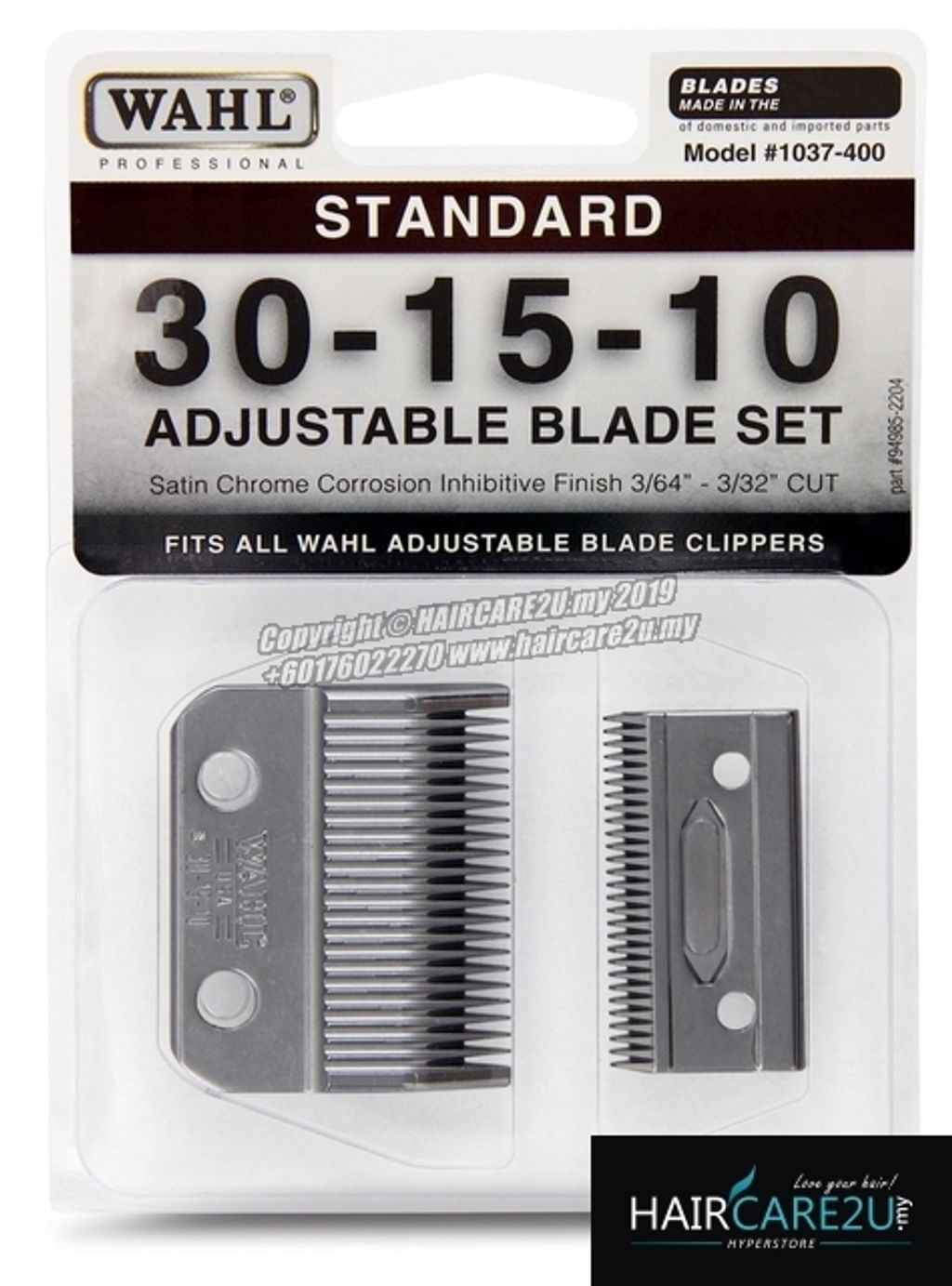 Wahl Professional Animal 1037-400 Adjustable Replacement Show Pro Blade (30-15-10).jpg