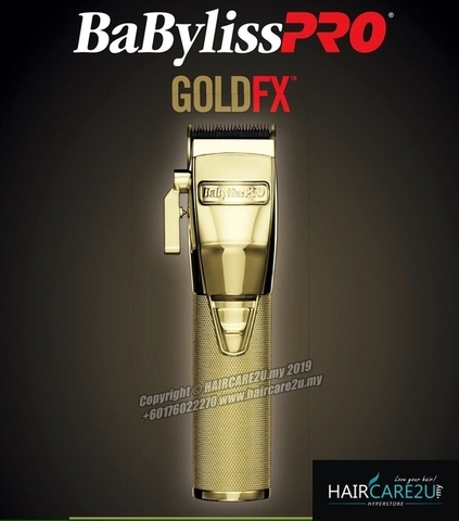 Babyliss Pro FX870RG GOLDFX Metal Ferrari Trimmer (Limited Edition) 4.jpg