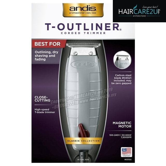 ANDIS #05100 T-Outliner Corded Magnetic Trimmer with Carbon Steel T-Blade.jpg