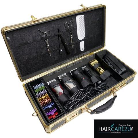 Barber & Co. Gold Metal 5 Star Barber Tools Case Bag 3.jpg