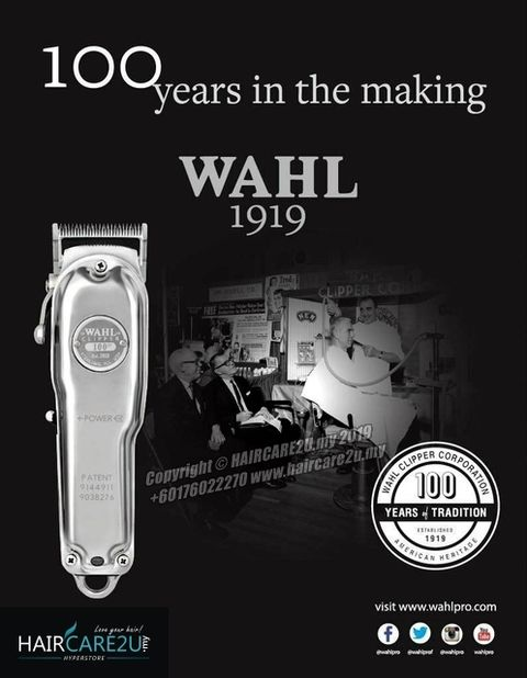 Wahl 1919 with 100 Years of Tradition 8504L Senior Cordless Hair Clipper 8.jpg