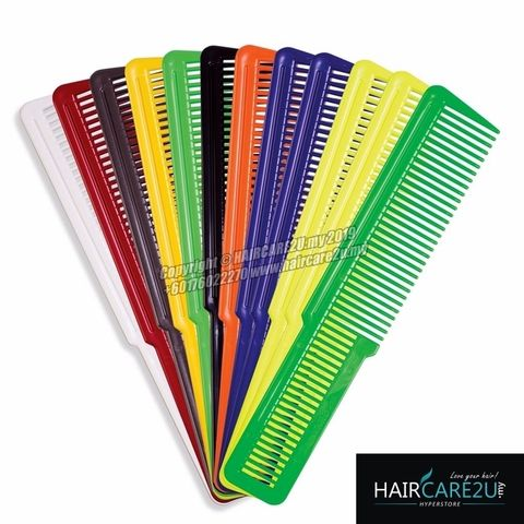 Wahl 12 Pack Flat Top Assorted Coloured Clipper Combs #3206-200 4.jpg