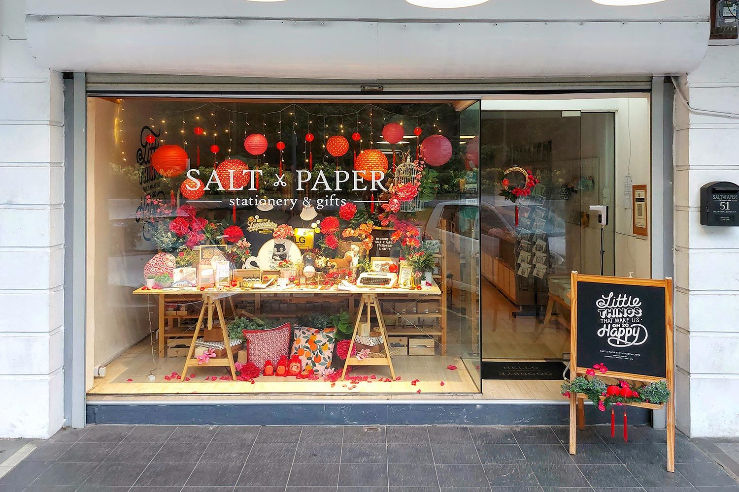 Salt x Paper Stationery & Gifts | New Business Hours