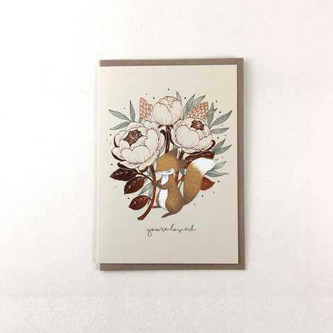 Fathers-Day-Card-You're-Loved-Fox-David-Austin-Rose-Copper-Foil-Greeting-Card-Gallery.jpg