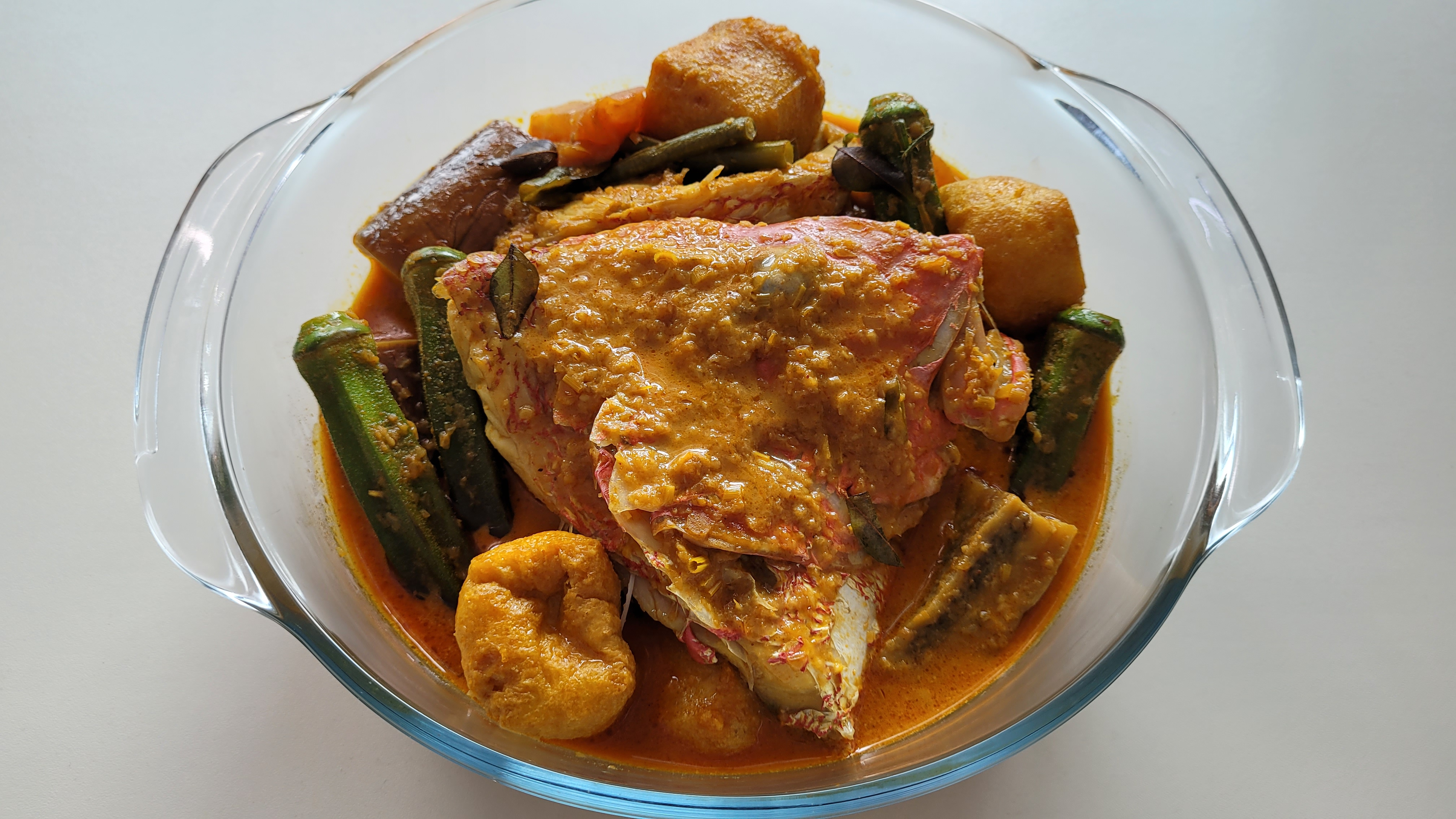 Check out Wally's Fish Head Curry Recipe!