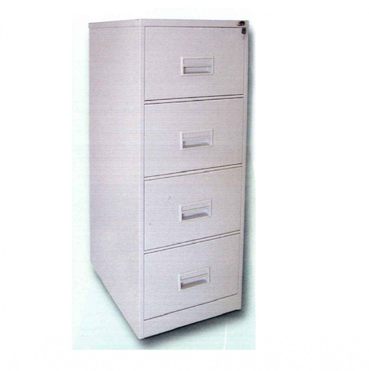 4 Drawer Steel Filing Cabinet With Recess Handle Model: O S106/AB