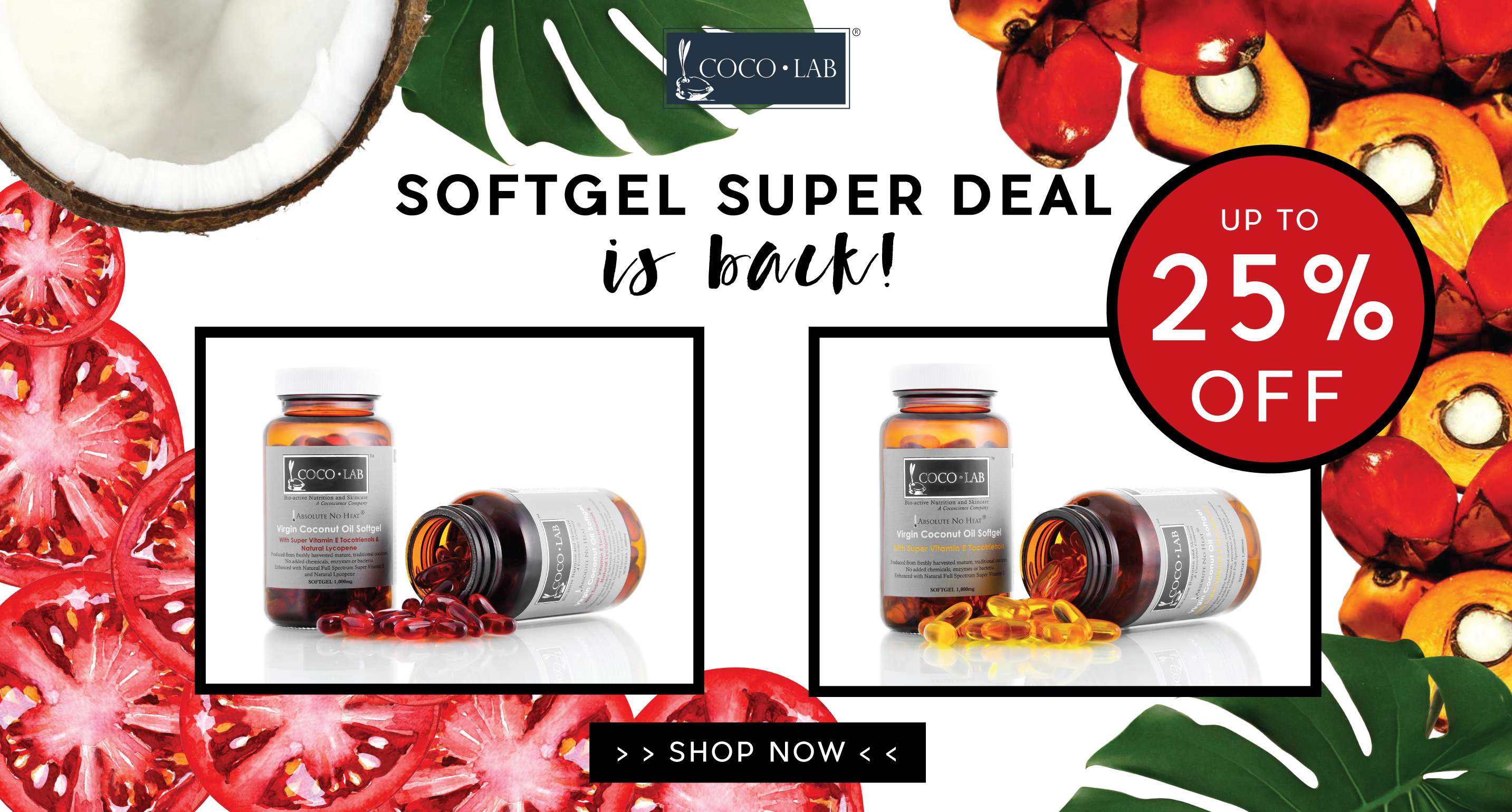 Our Softgel Super Deal is Back!