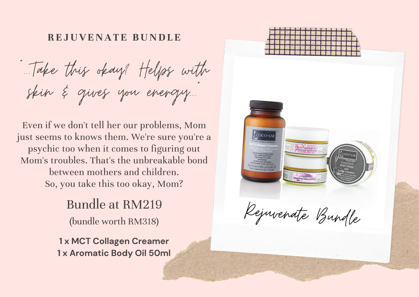 COCOLAB Rejuvenate Skin and Body Bundle