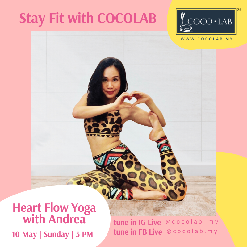Stay Fit With COCOLAB - Gentle Yoga with Andrea