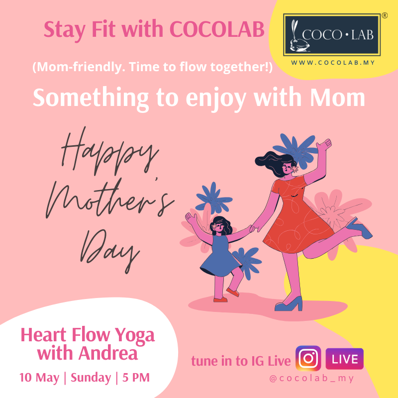 Stay Fit With COCOLAB - Gentle Yoga with Andrea (props)