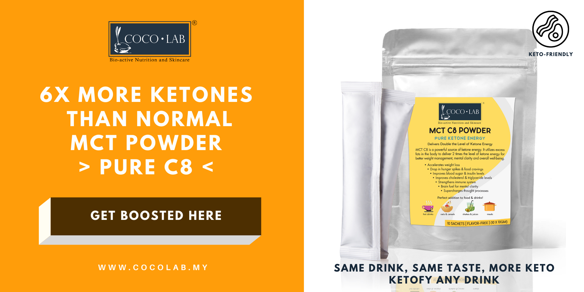 COCOLAB MCT C8 Powder