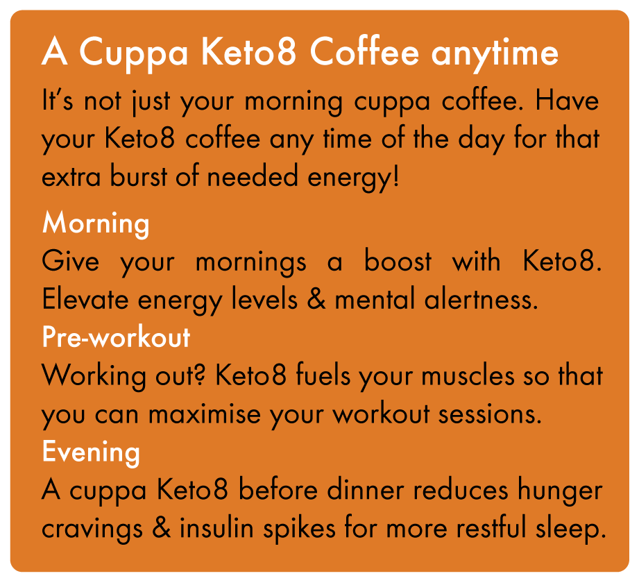 COCOLAB Keto8 Coffee - bulletproof anytime of the day