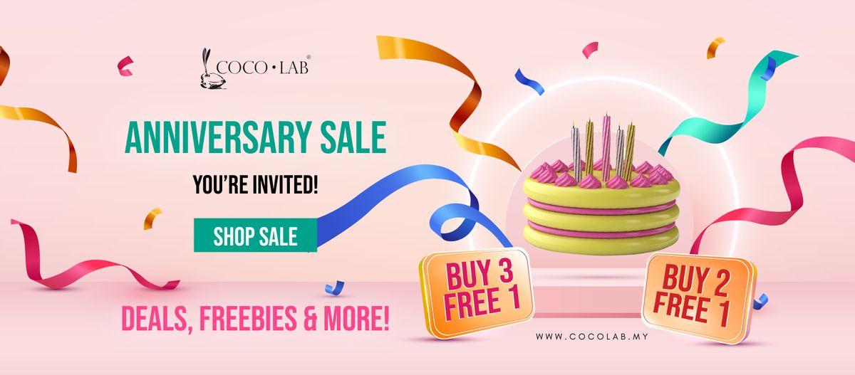 COCOLAB Anniversary Sale is Back!