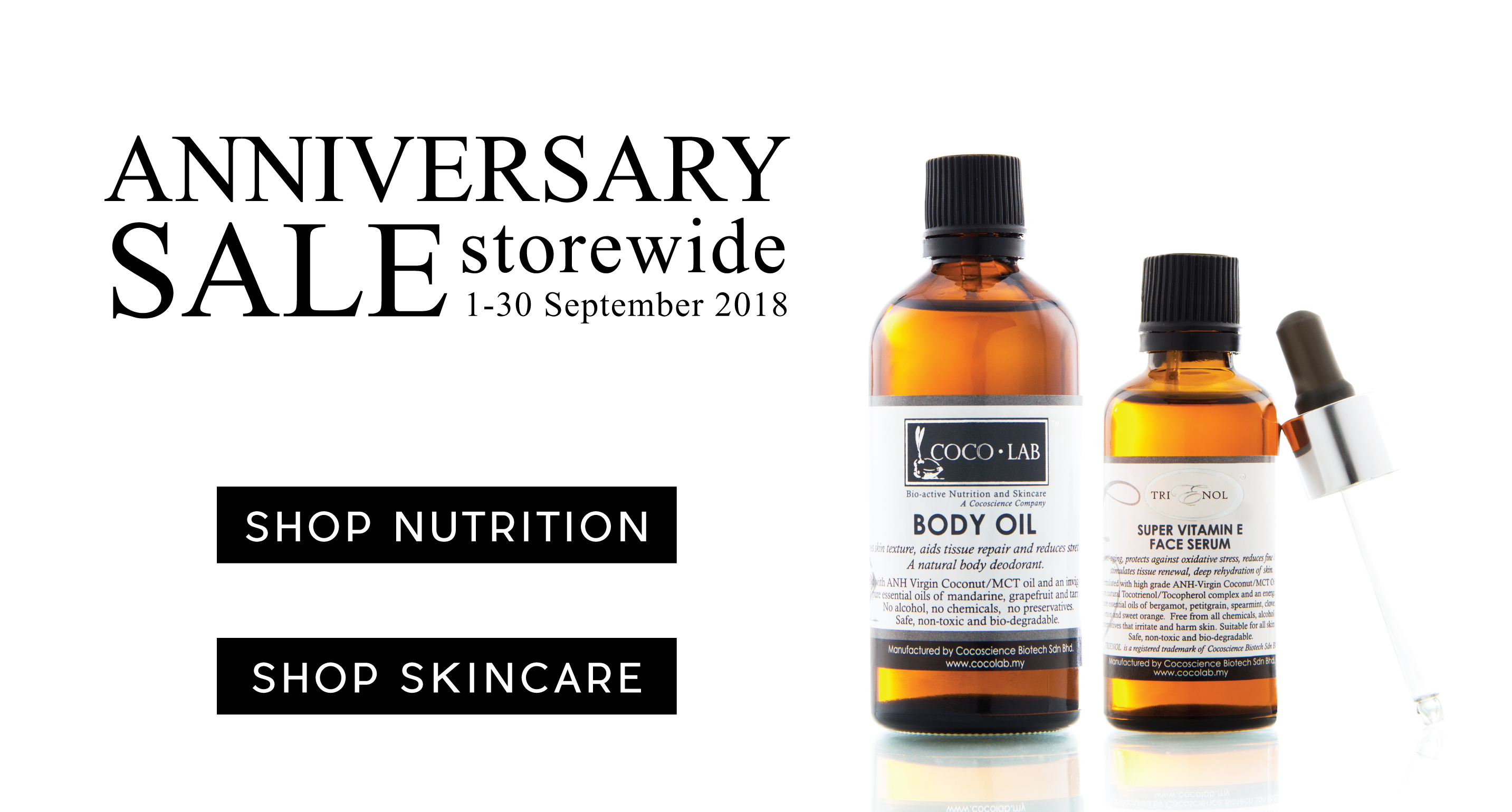 Our Anniversary Sale is Back!