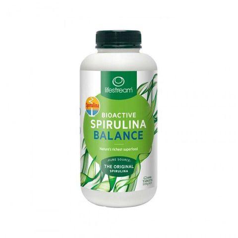 生命泉 Spirulina 螺旋藻1000片