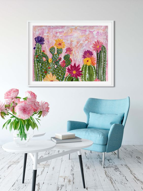 BRIGHTEN UP YOUR WALL