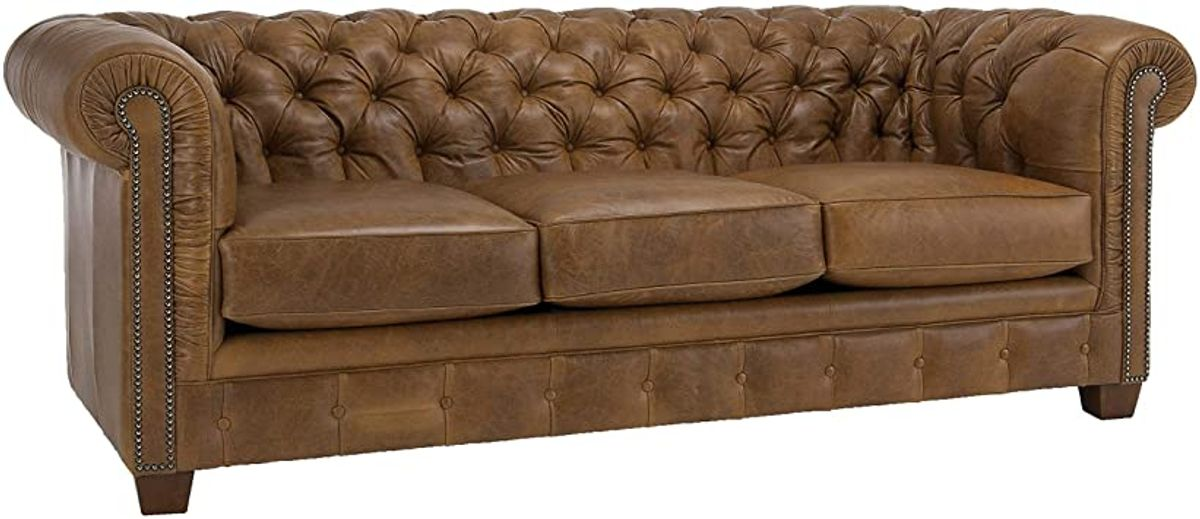 How to Tell a Genuine Chesterfield Leather Sofa?