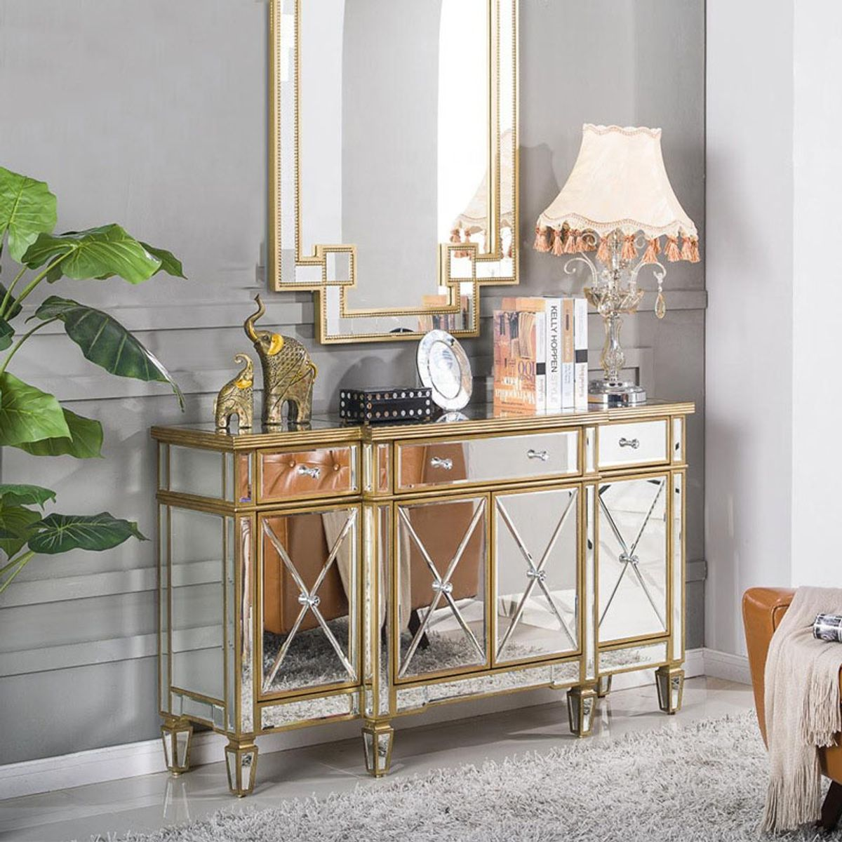 LUXURY CONSOLE TABLE