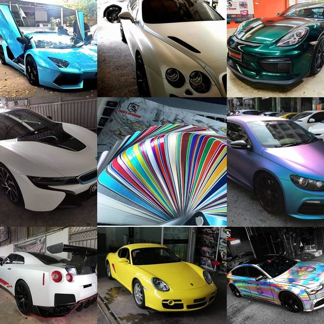 TOM'S STICKERS |  - CAR WRAPPING