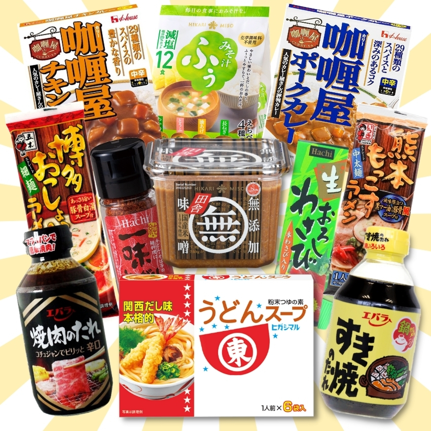 TANOSHIYA | BEST SELLING PRODUCTS - FOODS