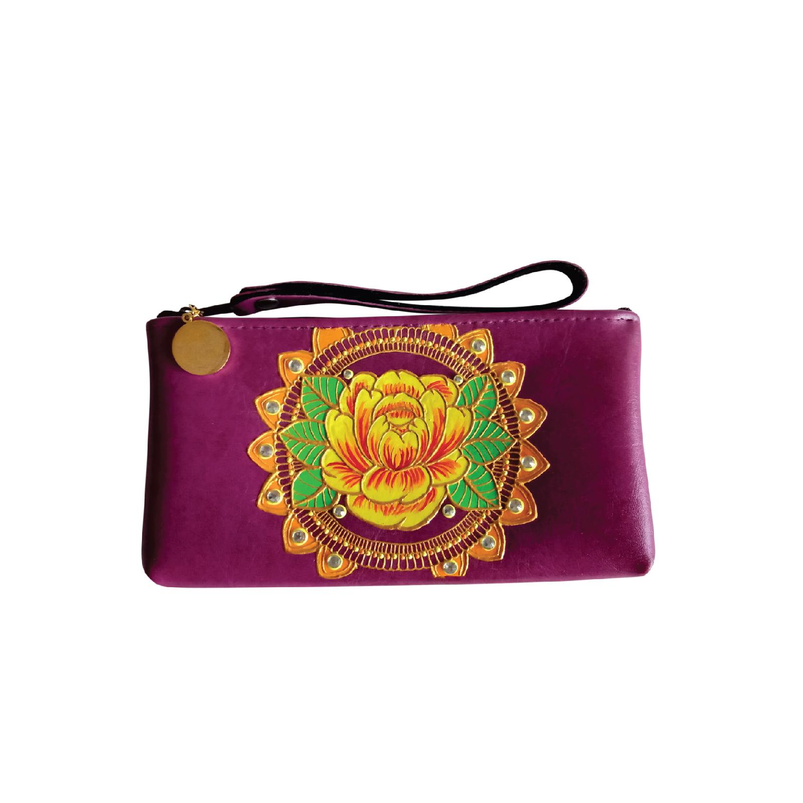 Item 2 - Peranakan Peony Collection-Hand-painted Wristlet (Purple_S).jpg
