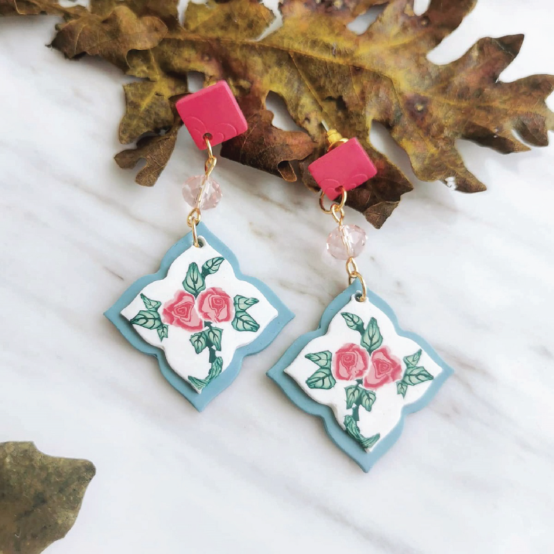 Item-9---Either-_-Or-Design-Light-Turquoise-Rose-Tile-Dangles.png