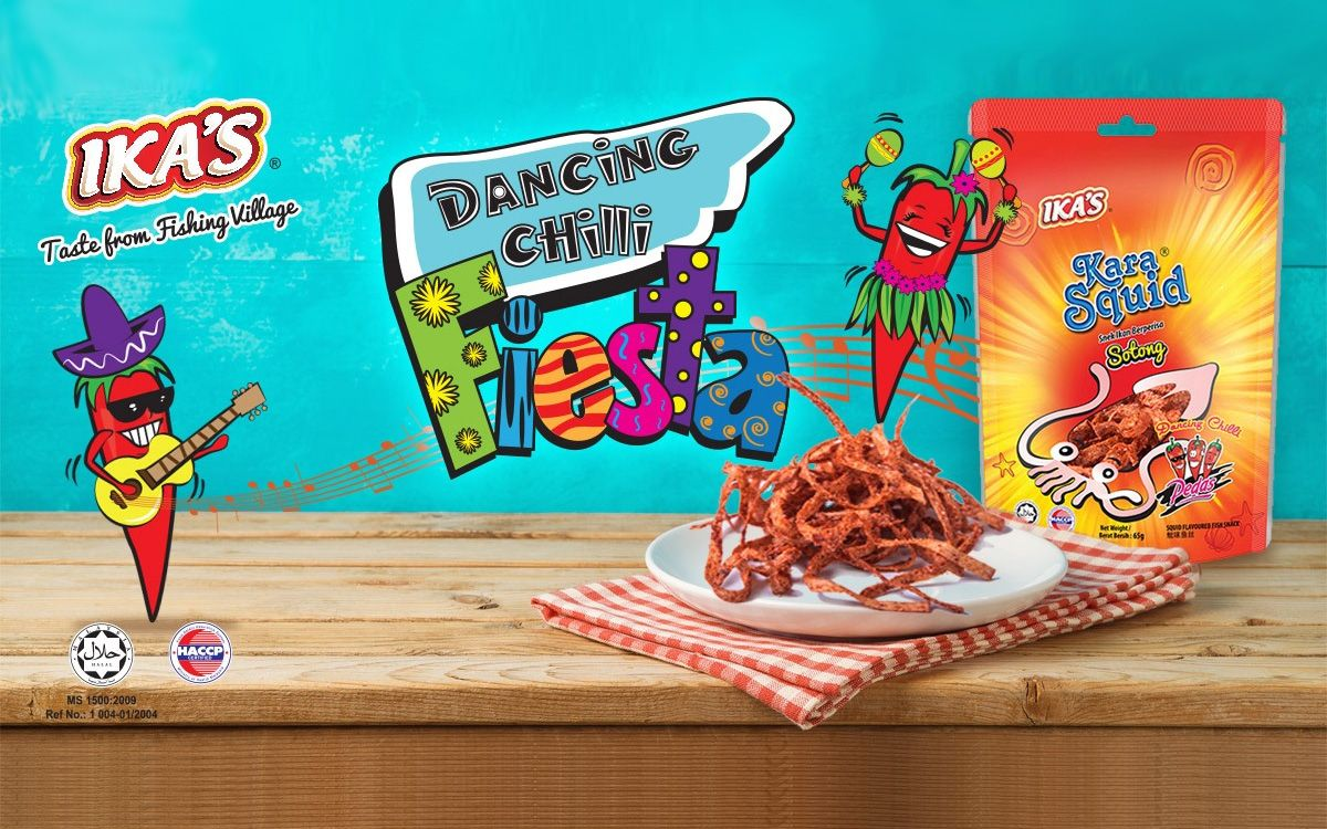 Let's Dance With The Karasquid 'Dancing Chili' Snack